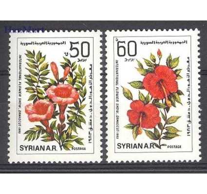 Znaczek Syria 1983 Mi 1579-1580 Czyste **