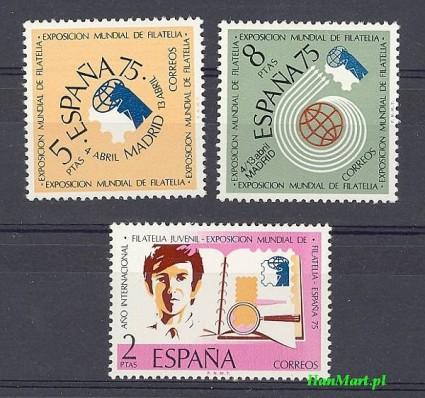 Hiszpania 1974 Mi 2069-2071 Czyste **
