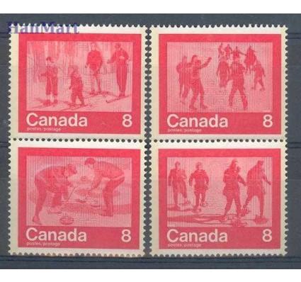 Znaczek Kanada 1974 Mi 570-573 Czyste **