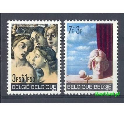 Belgia 1970 Mi 1618-1619 Czyste **
