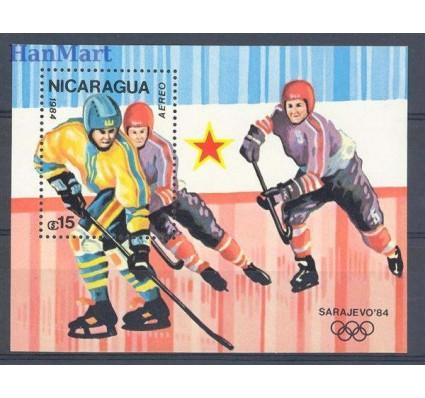 Znaczek Nikaragua 1984 Mi bl 155 Czyste **