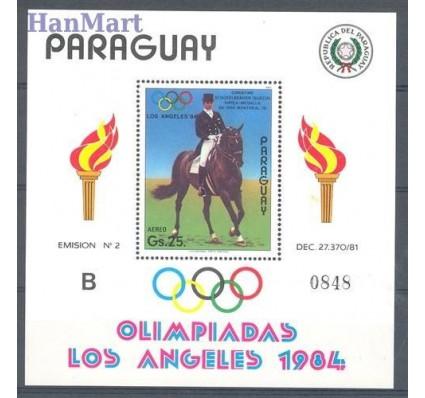 Znaczek Paragwaj 1984 Mi bl 395 Czyste **