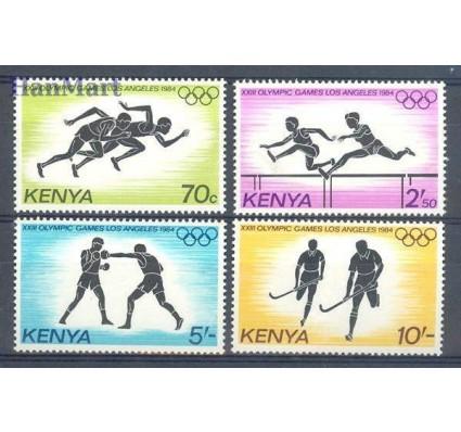 Kenia 1984 Mi 292-295 Czyste **
