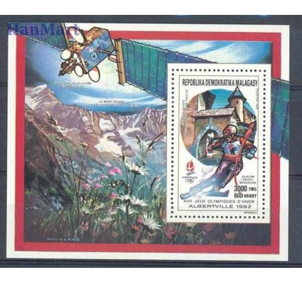 Znaczek Madagaskar 1990 Mi bl 139 Czyste **