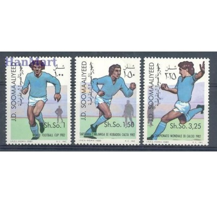 Znaczek Somalia 1982 Mi 315-317 Czyste **