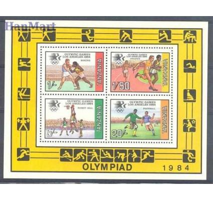 Znaczek Tanzania 1984 Mi bl 37 Czyste **