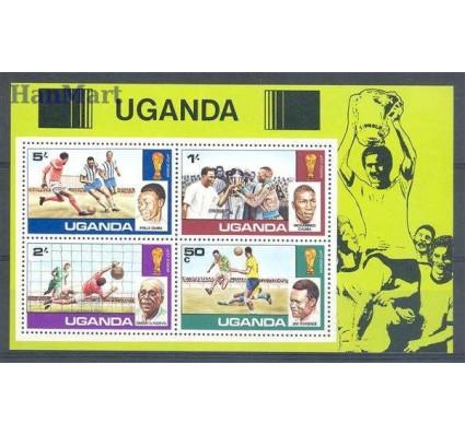 Znaczek Uganda 1978 Mi bl 9 Czyste **