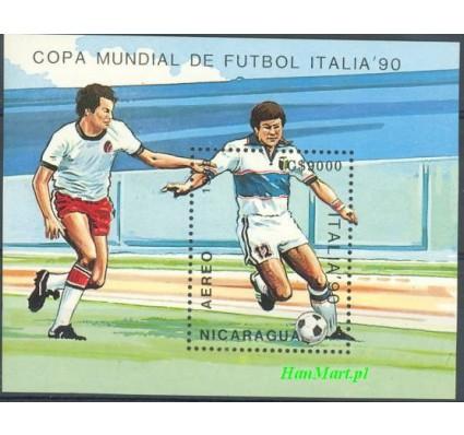 Znaczek Nikaragua 1989 Mi bl 183 Czyste **