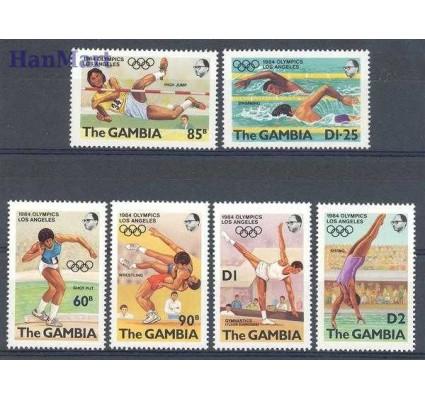 Znaczek Gambia 1984 Mi 500-505 Czyste **