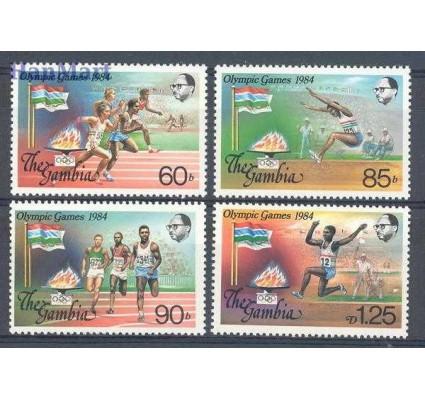 Znaczek Gambia 1984 Mi 531-534 Czyste **