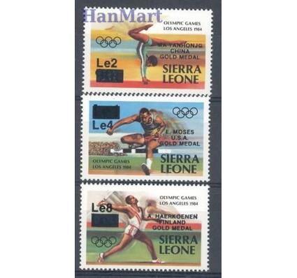 Znaczek Sierra Leone 1985 Mi 827-829 Czyste **