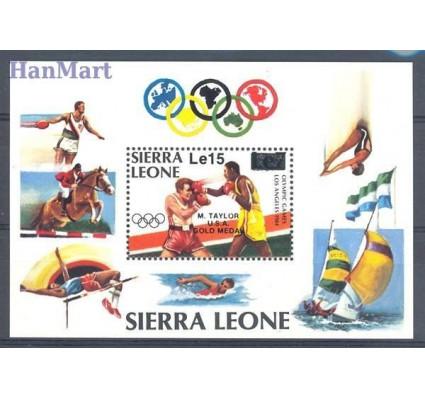 Znaczek Sierra Leone 1984 Mi bl 33 Czyste **
