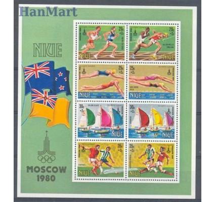Znaczek Niue 1980 Mi bl 38 Czyste **