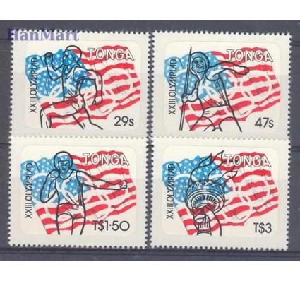 Znaczek Tonga 1984 Mi 890-893 Czyste **
