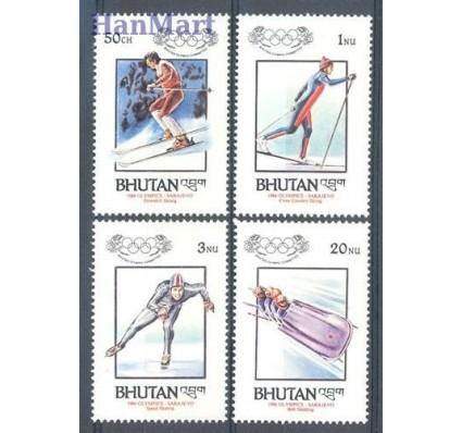 Znaczek Bhutan 1984 Mi 847-850 Czyste **