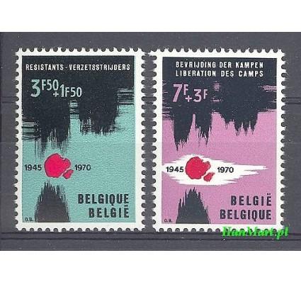 Znaczek Belgia 1970 Mi 1598-1599 Czyste **