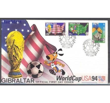 Znaczek Gibraltar 1994 Mi 687-689 FDC