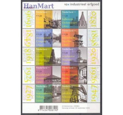 Znaczek Holandia 2002 Mi ark 2033-2042 Czyste **