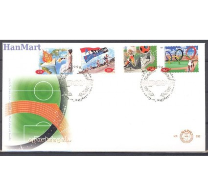 Holandia 1996 Mi 1581-1584 FDC