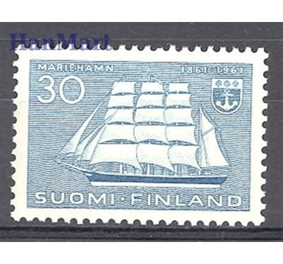 Finlandia 1961 Mi 531 Czyste **