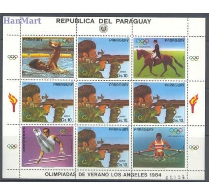 Paragwaj 1984 Mi ark 3717 Czyste **