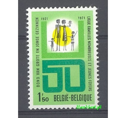 Belgia 1971 Mi 1650 Czyste **