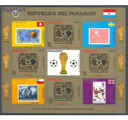 Paragwaj 1988 Mi ark 4246 Czyste **