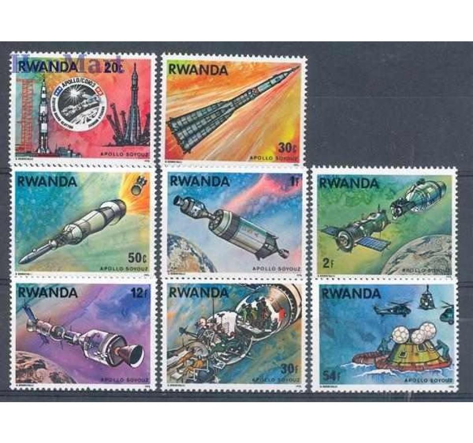 Rwanda 1976 Mi 835-842 Czyste **