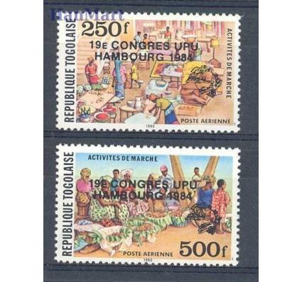 Togo 1984 Mi 1670-1671 Czyste **