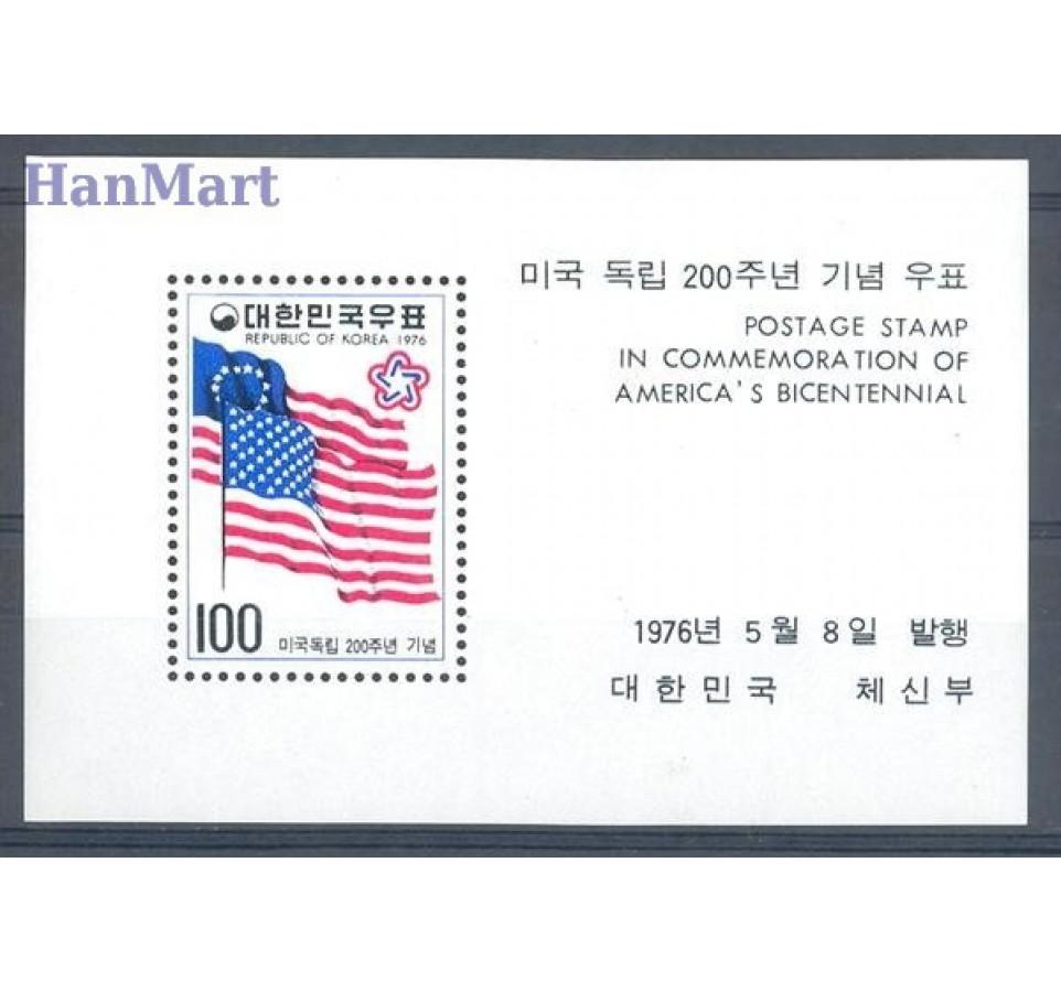 Korea Południowa 1976 Mi bl 415 Czyste **