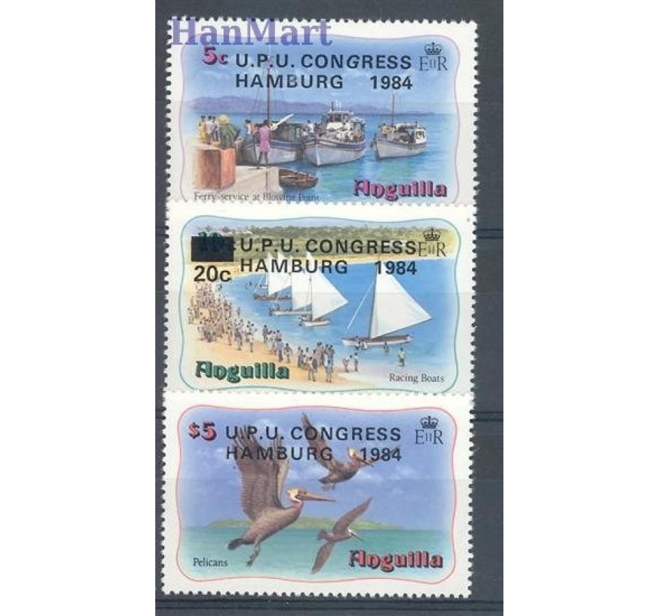 Anguilla 1984 Mi 604-606 Czyste **