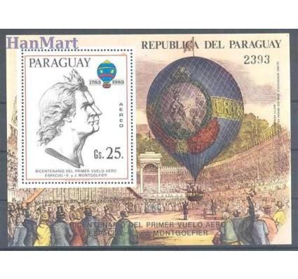 Paragwaj 1983 Mi bl 386 Czyste **