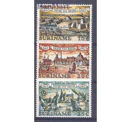 Znaczek Surinam 1967 Mi 525-527 Czyste **