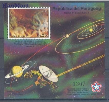 Znaczek Paragwaj 1977 Mi bl 307 Czyste **