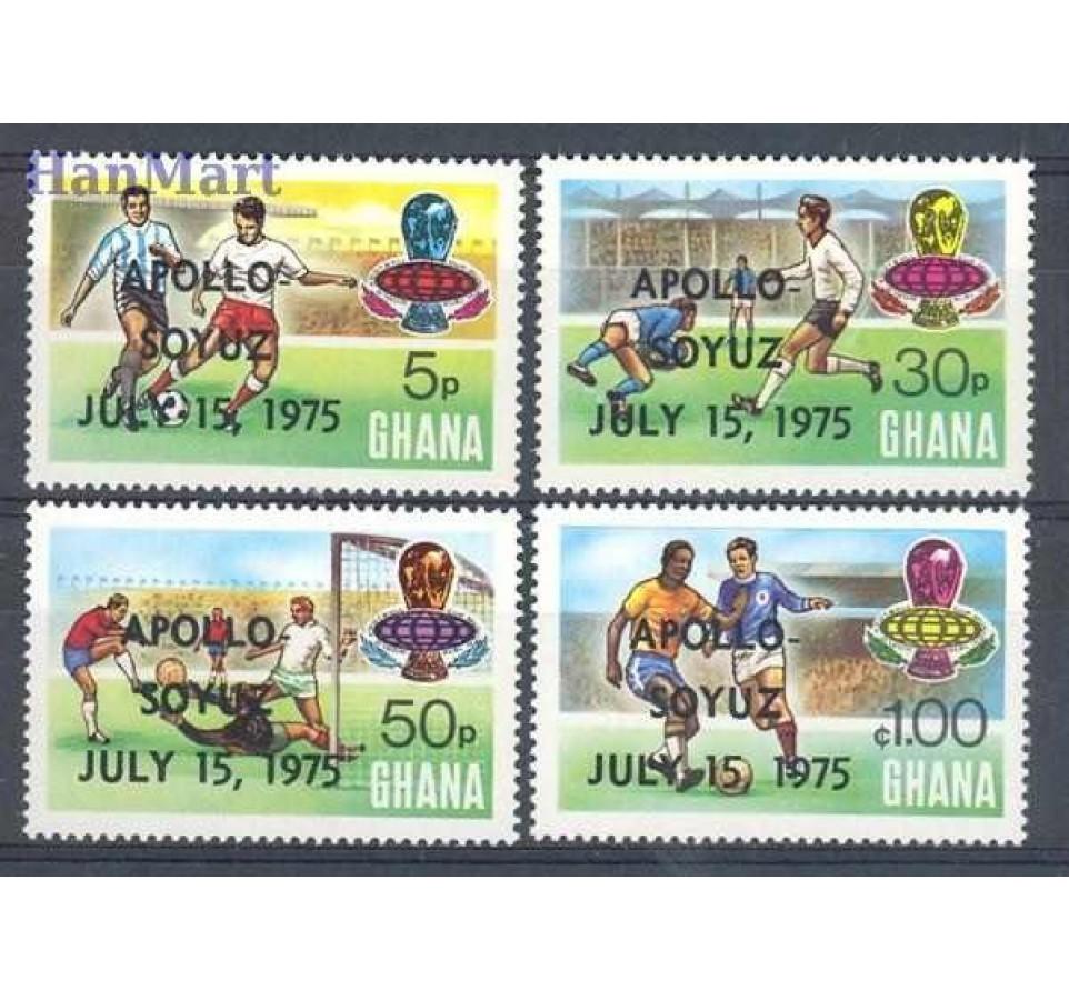 Ghana 1975 Mi 597-600 Czyste **