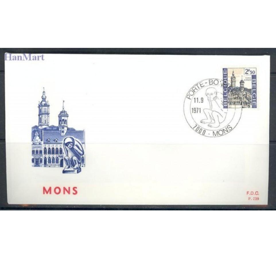 Belgia 1971 Mi 1653-1654 FDC
