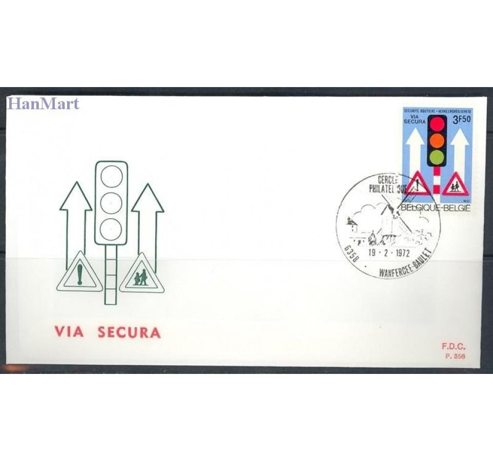 Belgia 1972 Mi 1671 FDC