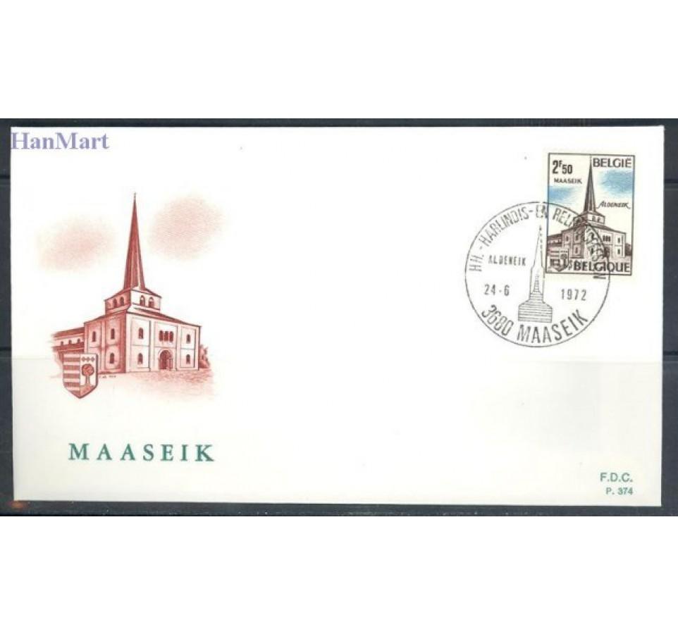 Belgia 1972 Mi 1691-1692 FDC