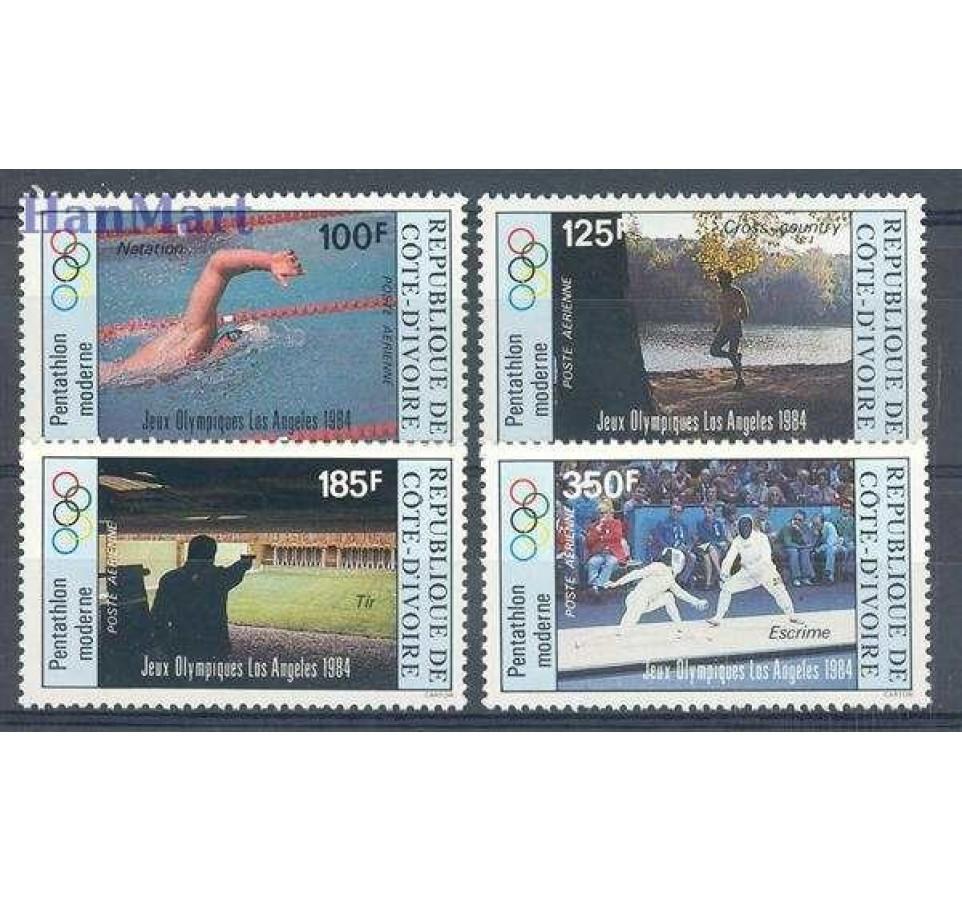 Wybrzeże Kości Słoniowej 1984 Mi 812-815 Czyste **