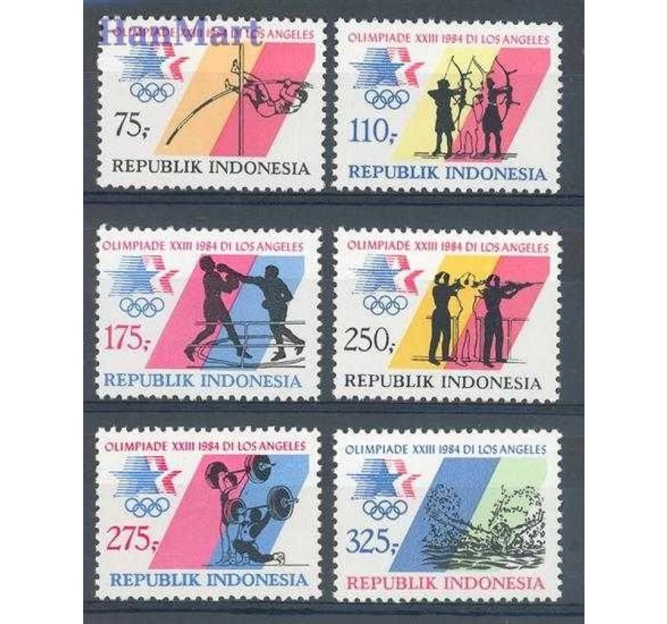 Indonezja 1984 Mi 1140-1145 Czyste **