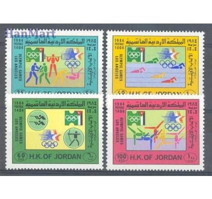 Jordania 1984 Mi 1266-1269 Czyste **