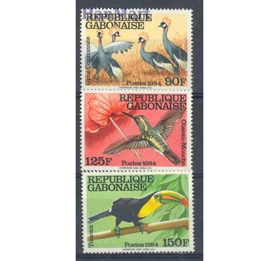 Gabon 1984 Mi 924-926 Czyste **