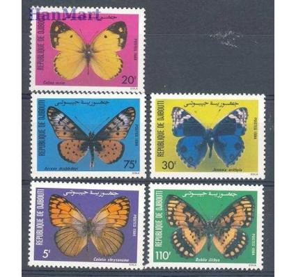 Dżibuti 1984 Mi 386-390 Czyste **