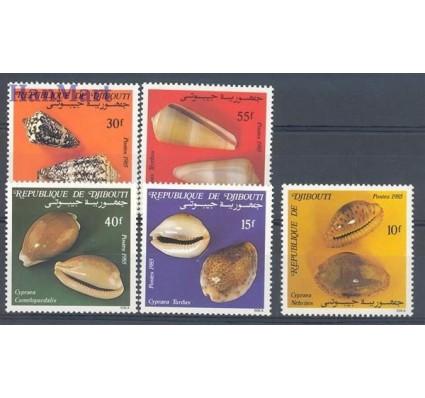 Znaczek Dżibuti 1985 Mi 447-451 Czyste **