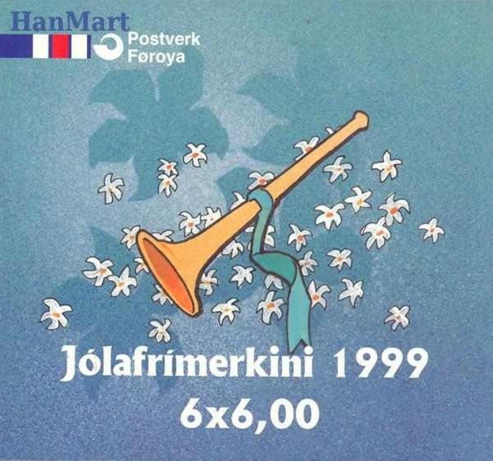 Wyspy Owcze 1999 Mi mh 367 Czyste **