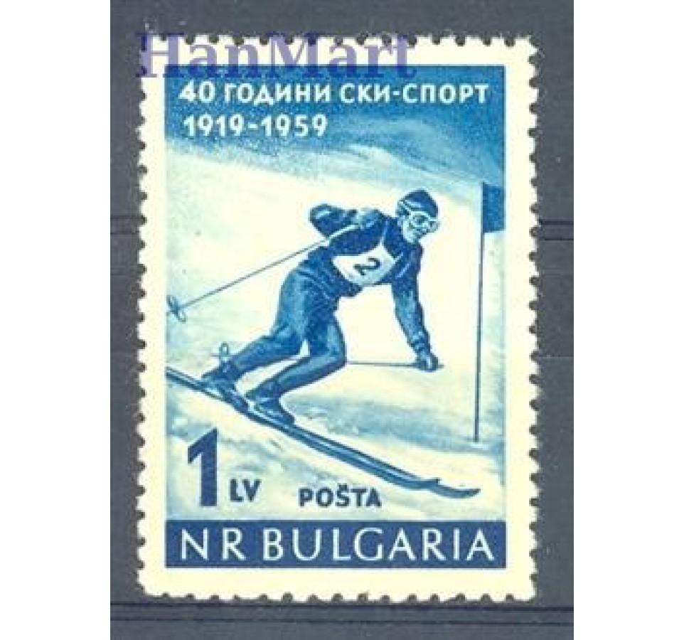 Bułgaria 1959 Mi 1102 Czyste **
