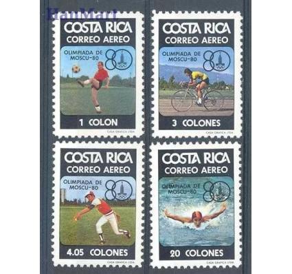 Znaczek Kostaryka 1980 Mi 1065-1068 Czyste **