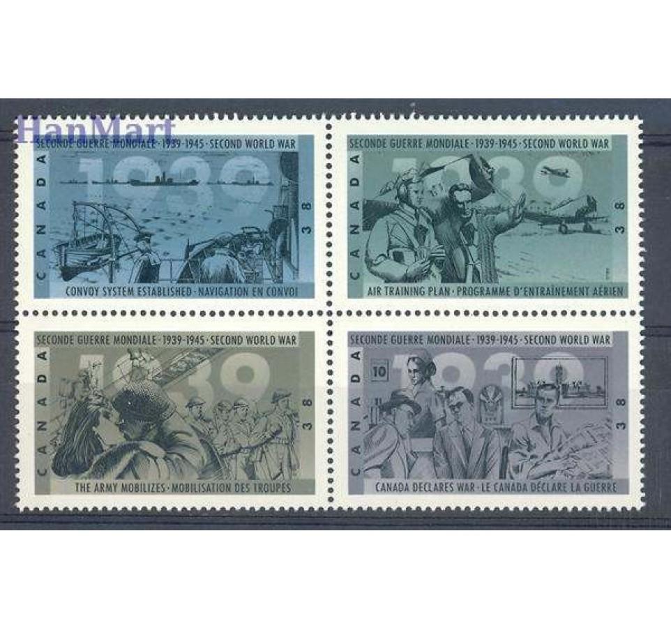 Kanada 1989 Mi 1157-1160 Czyste **