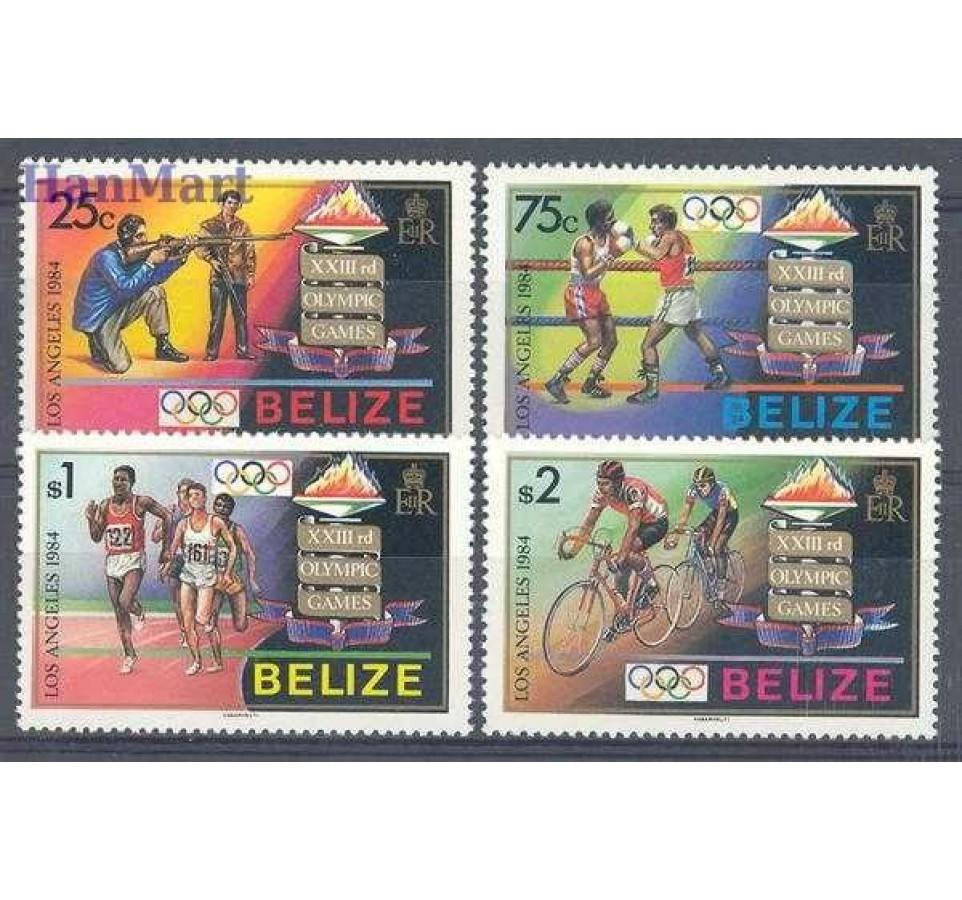 Belize 1984 Mi 747-750 Czyste **