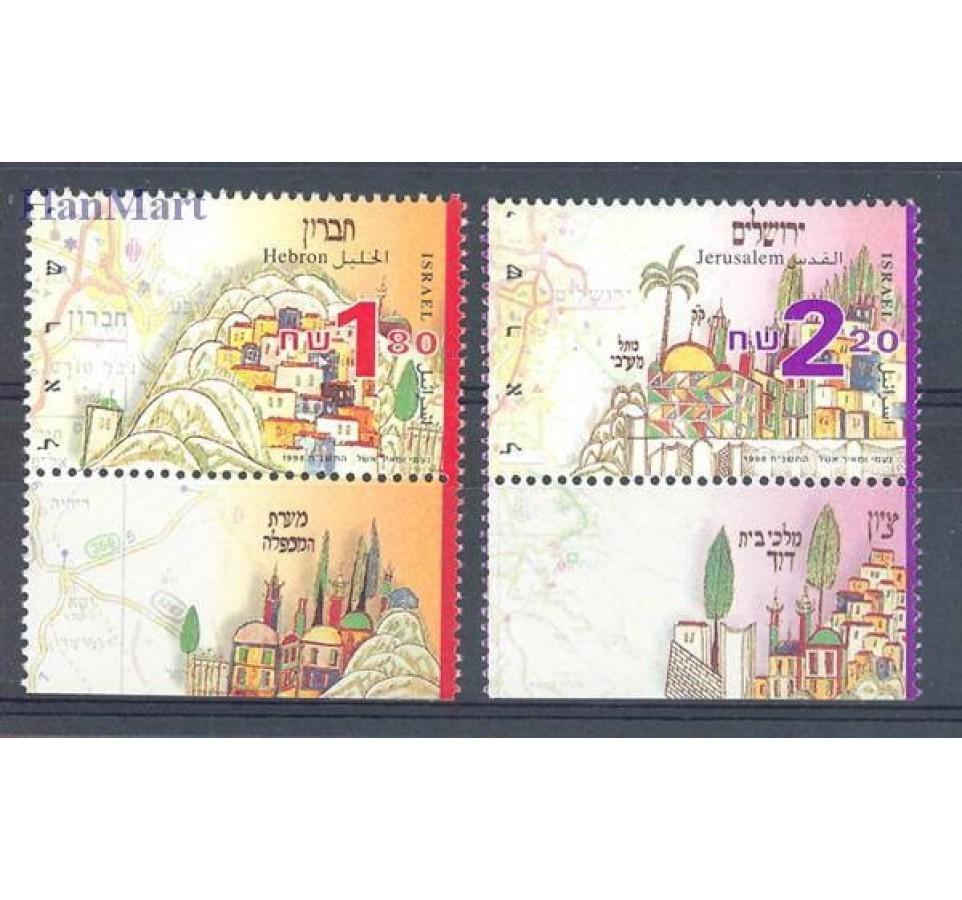 Izrael 1998 Mi 1490-1491 Czyste **